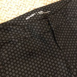 Old Navy Pixie cigarette diamond print pants